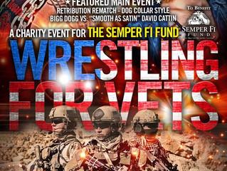 KCXW/Semper Fi fund Wrestling for Vets
