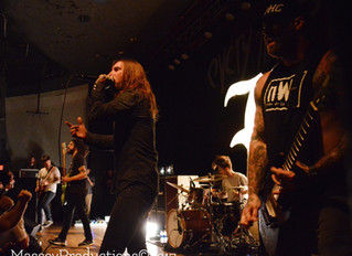 Every Time I Die Resurrects Metal in Lawrence
