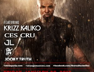 Tech N9ne owned the night of January 20th, 2017 at the Granada