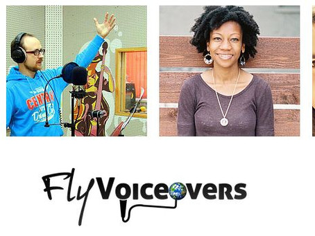 Flyvoiceovers; A Team of Professional Voice over Artists
