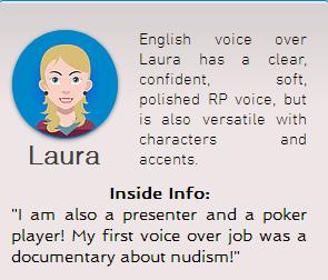Portfolio Series: Meet Our Soft Spoken British Voice over Artist, Laura