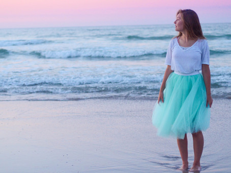 TO SEW: Mermaid Tulle Skirt