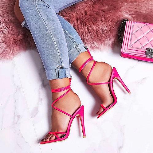 Bad gyal strap heels