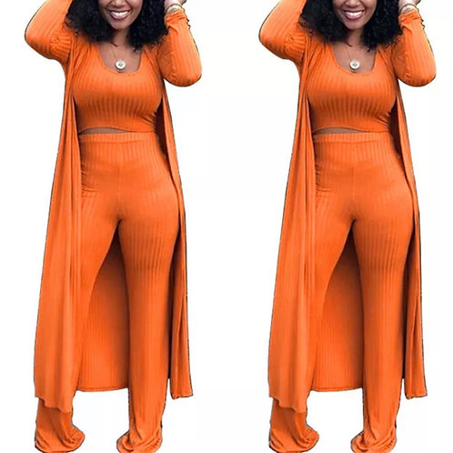 Anytime orange 3pc set