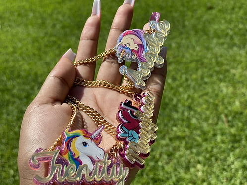 Custom kid Necklace