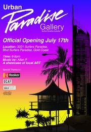 Gallery Show featuring Amplify Arts paintings