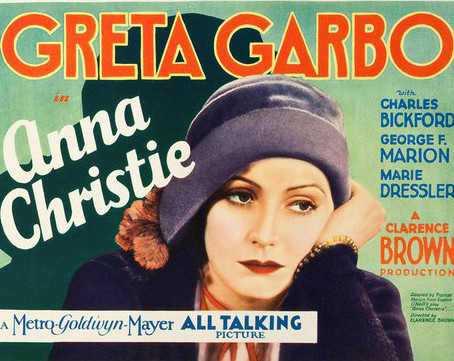 Mystique glamour of Greta Garbo in Barcelona