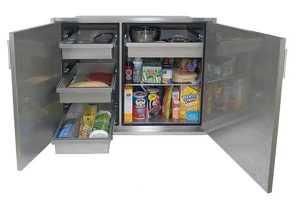 42 Inch Sealed Dry Storage Pantry Open N
