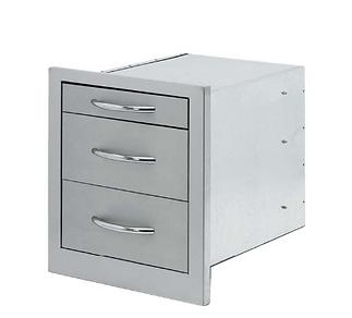 3 drawer storage