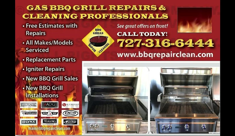 BBQ Repair & Clean Pros Inc. Comercial