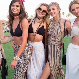 Le Festival de Coachella ... Un concentré de Mode et Beauté !!