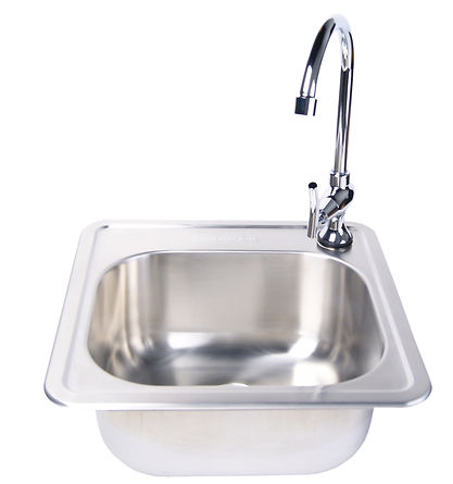 FM_3588-3587_Faucet Set And Stainless St