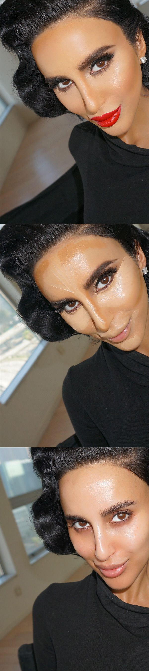 Lilly Ghalichi Full Face Makeup Step by Step