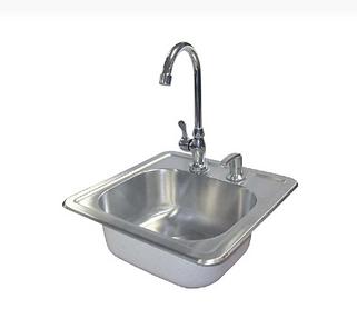 sink w/ soap dispenser