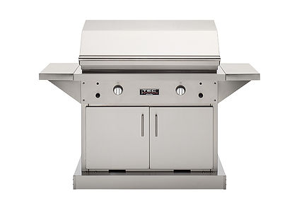44 Patio FR - Stainless Cabinet with Sid