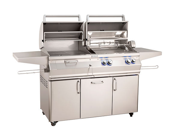 FM_A830s_Combo-Grill_Portable_Hoods-Open