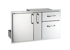 AOG_18-36-SSDD_Door with Dbl. Drawer and