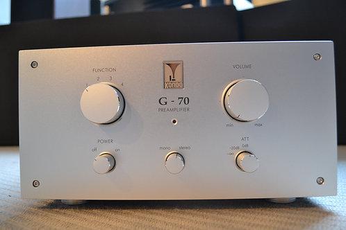 Kondo AudioNote Japan G-70