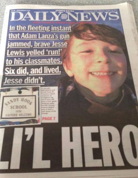 Jesse Lewis, War Hero