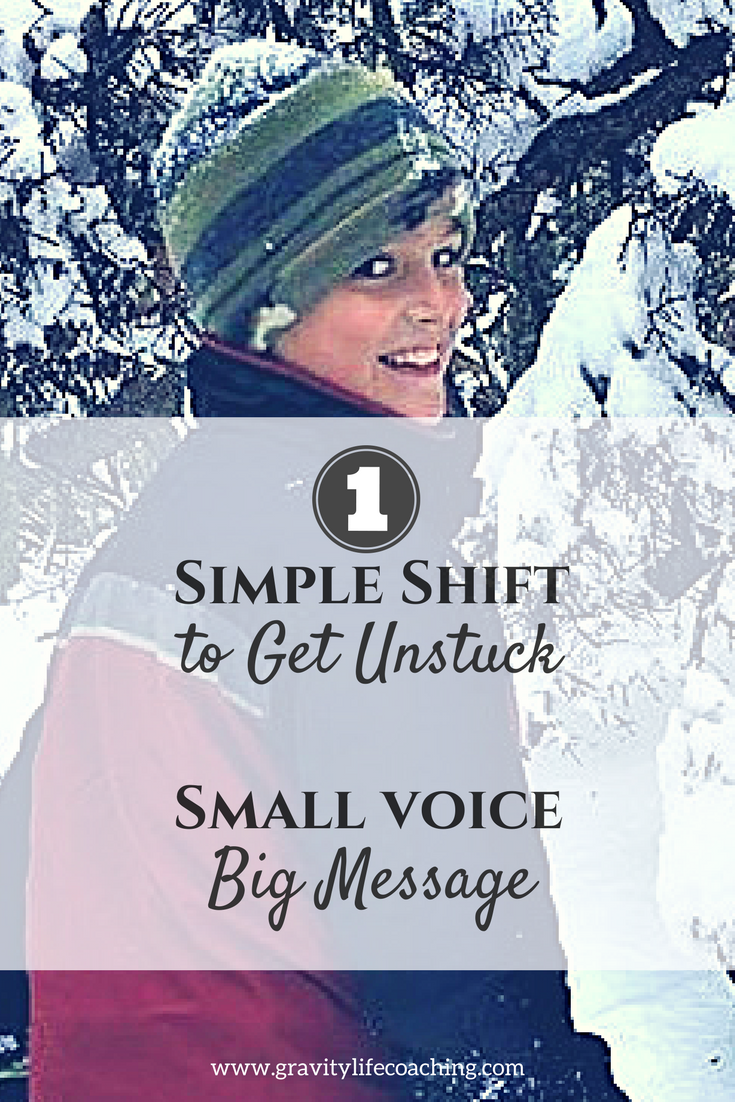 One Simple Shift to Get Unstuck