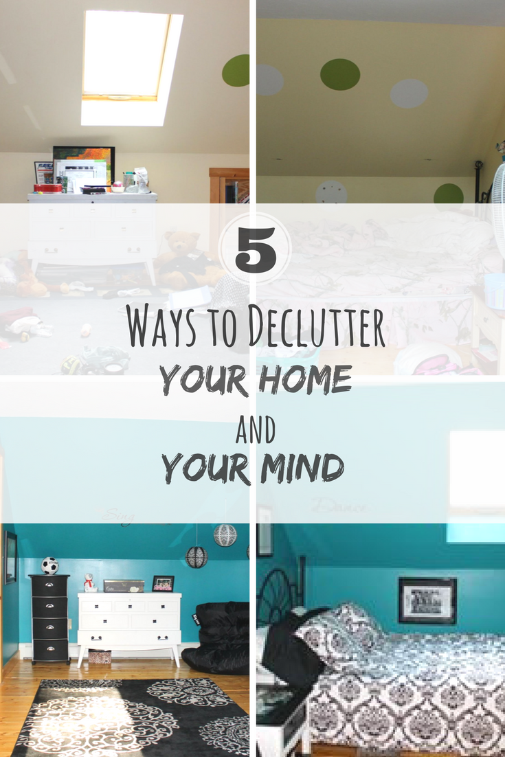 5 Ways to De-Clutter Your Home and Mind
