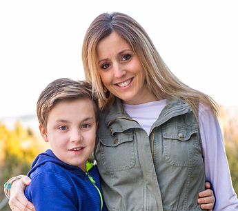 Erin with son
