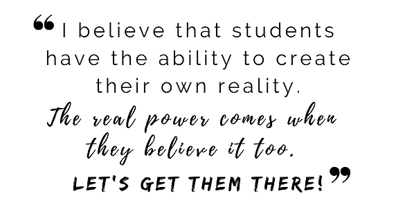 I believe that students have the ability