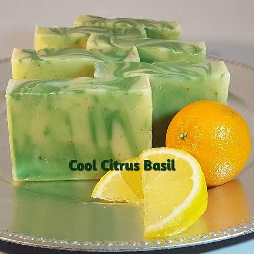 Cool Citrus Basil - soap