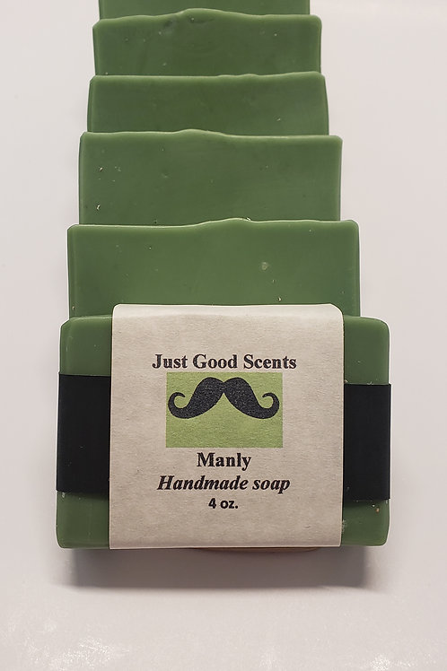 Manly - soap