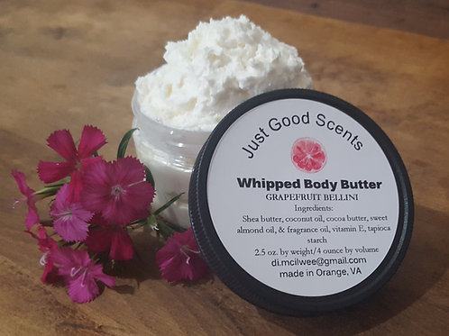 Whipped Body Butter - choose your scent