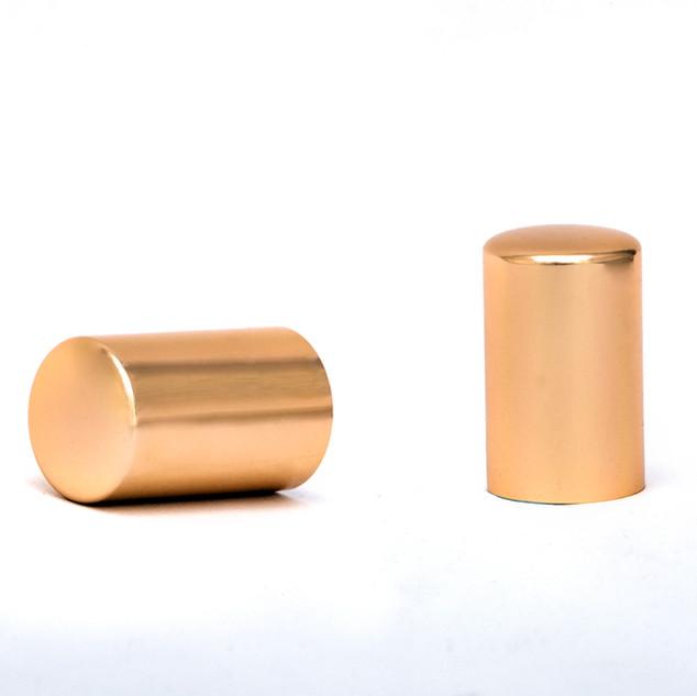 Tappo FEA 15 e FEA 20 Alluminio Oro