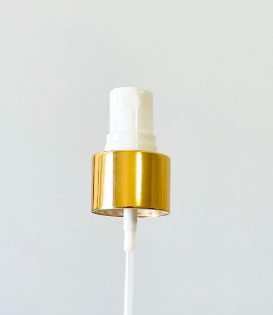 Pompa Spray 24/410 Ghiera in Alluminio Oro Mist Spray Pump