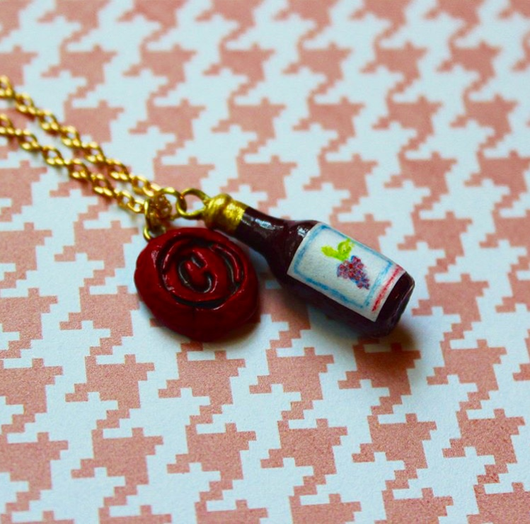 Wine Bottle and Wax Seal