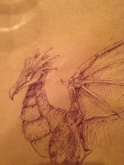 Dragon on Table