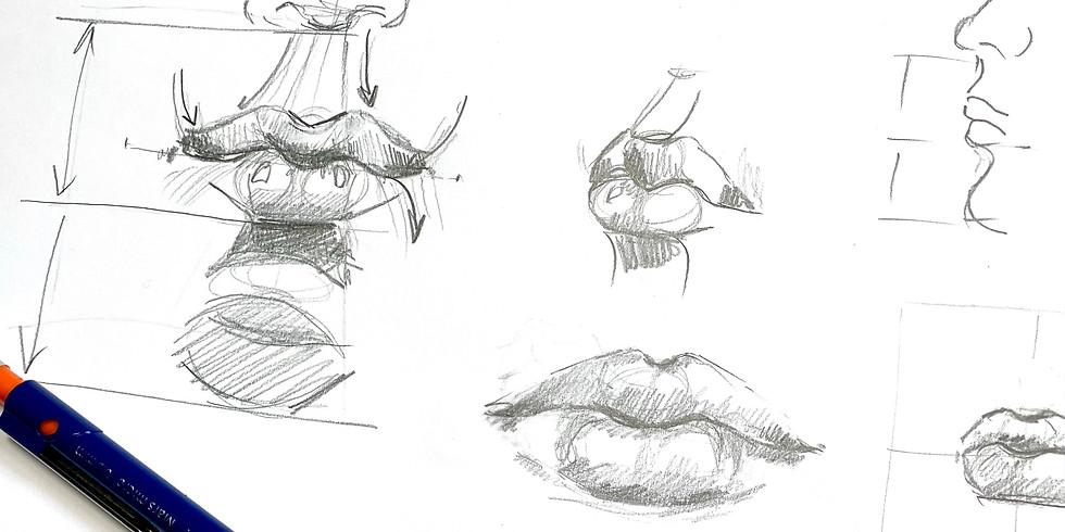 Porträt Teil 3: Lippen