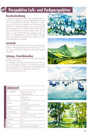 Aquarell, Kurs, Perspektive, Farb und Luftperspektive