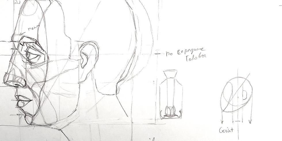 Porträt Teil 5: Kopf im Profil