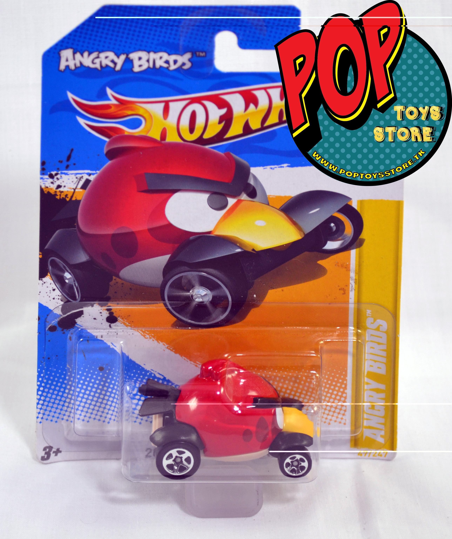 hotwheels - angry birds