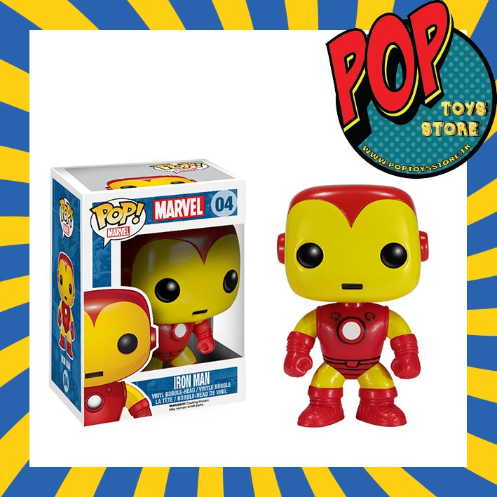 marvel - iron man 1 funko pop