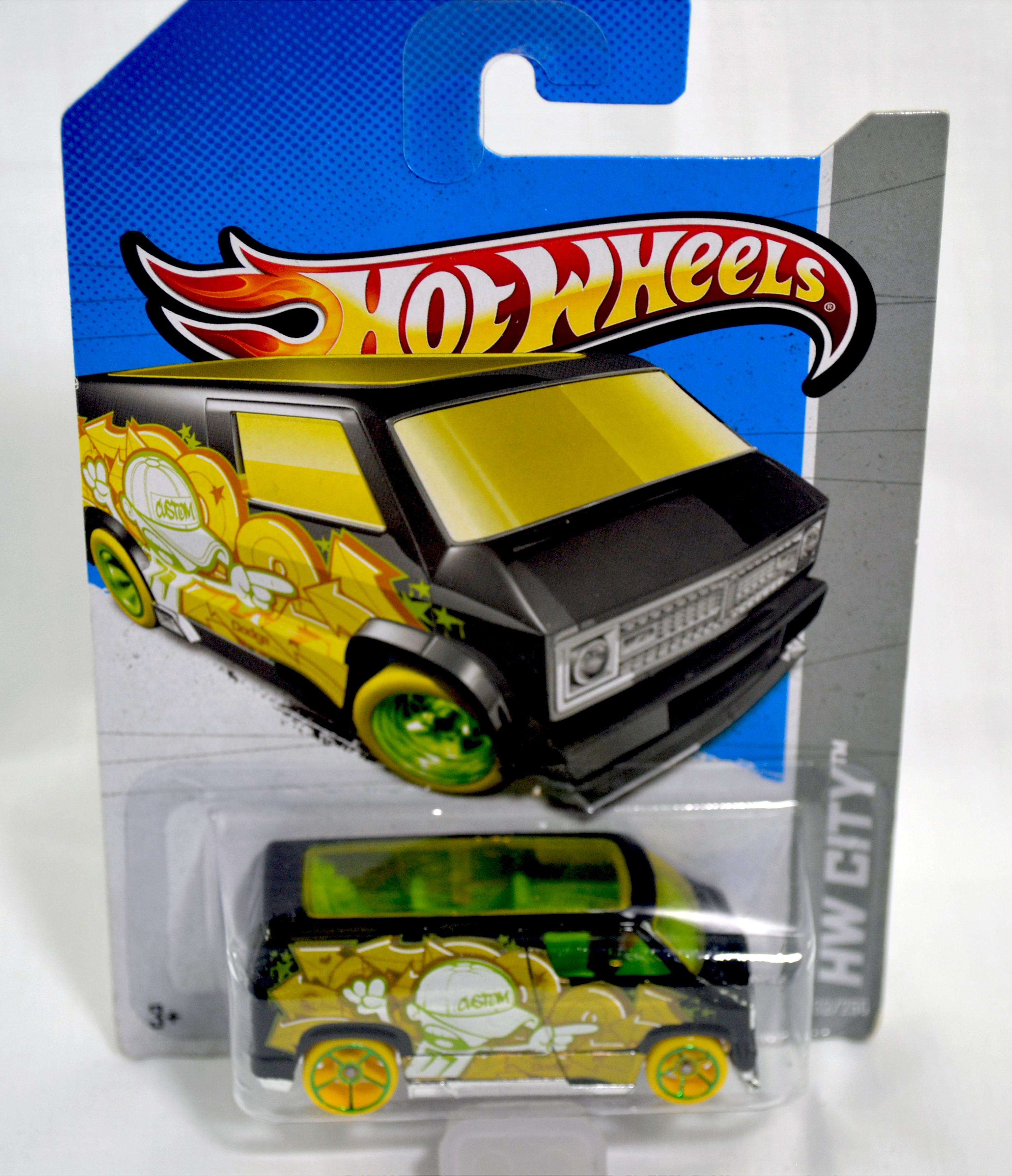 hotwheels - dodge van custome 77