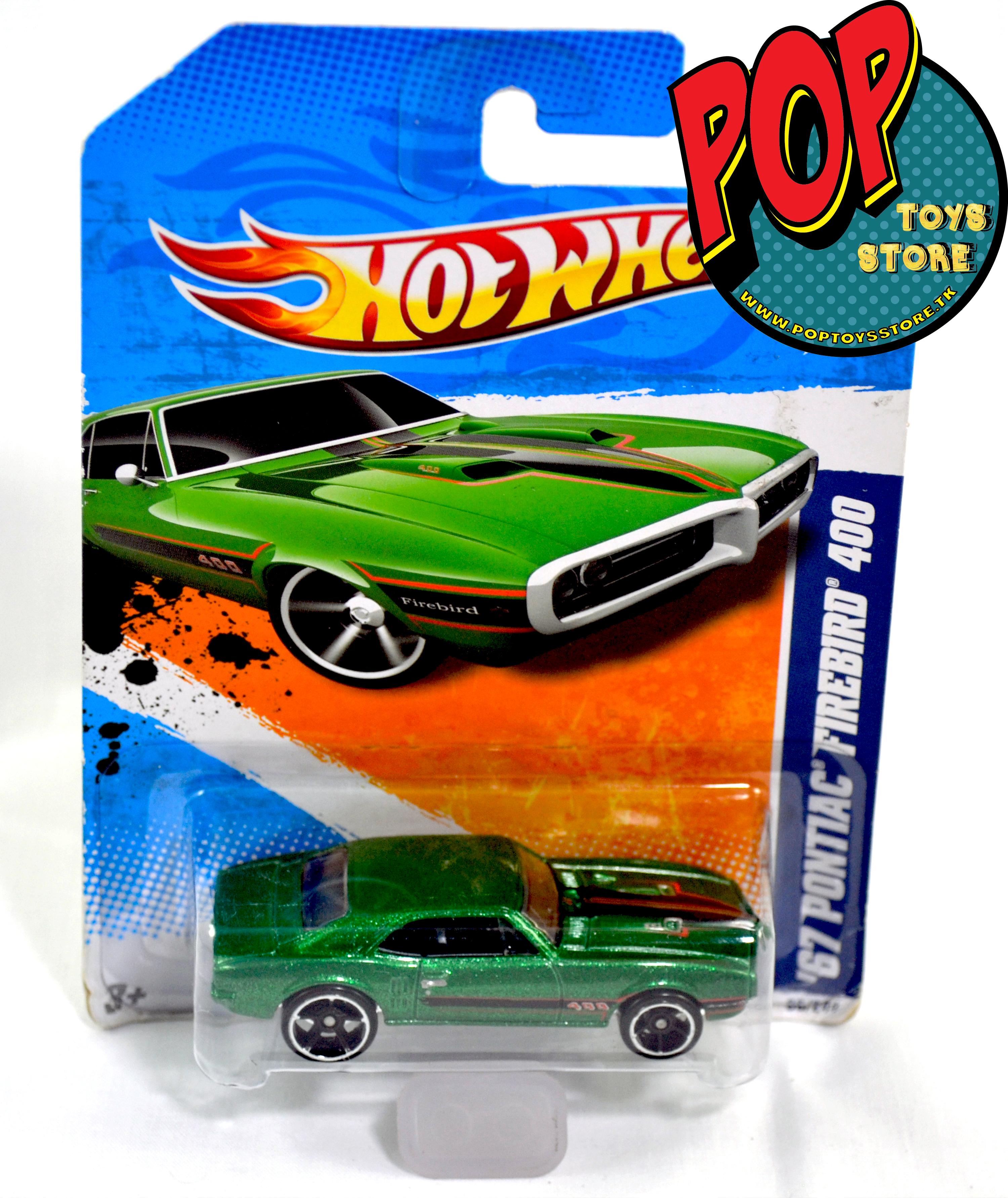 hotwheels - pontiac 67 firebird 400