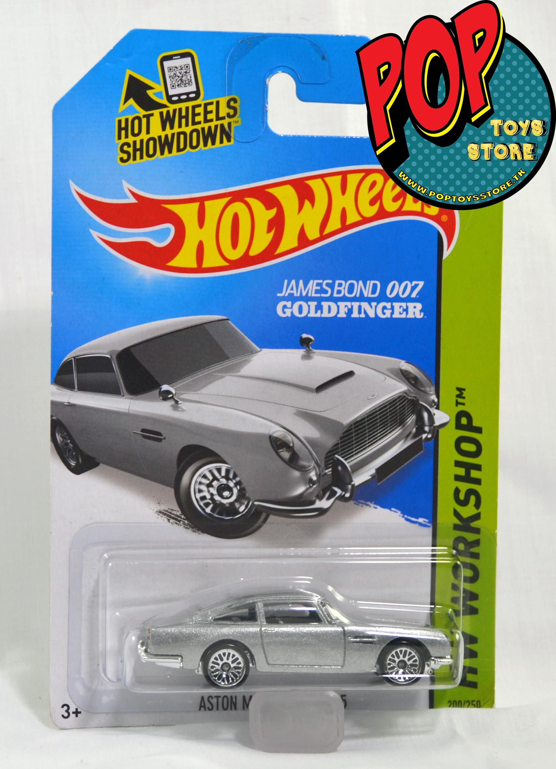 hotwheels - aston martin 1967 - 007