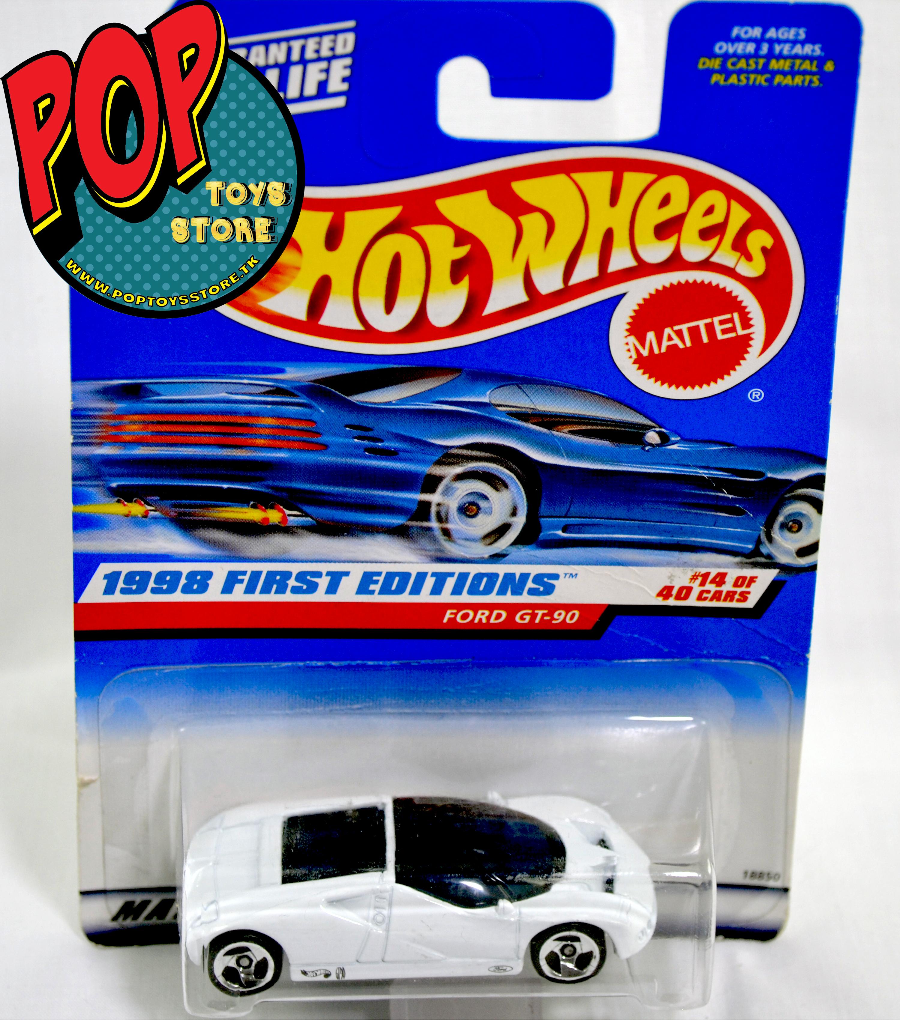 hotwheels - ford gt 90 1998
