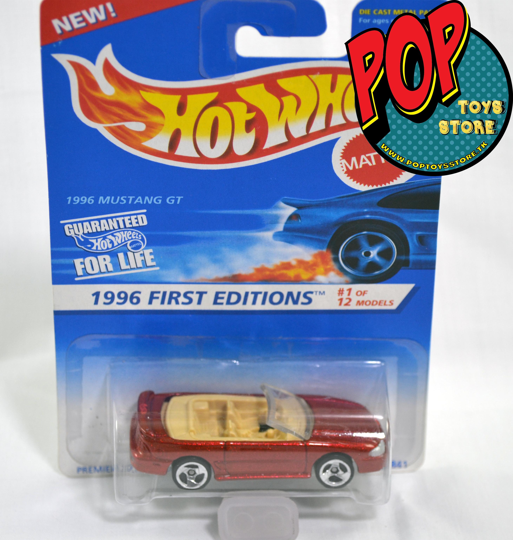 hotwheels - mustang gt 1996