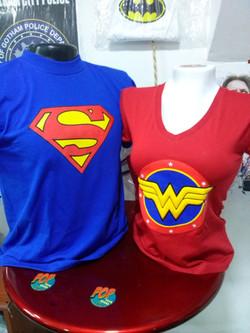 camiseta hombre y mujer