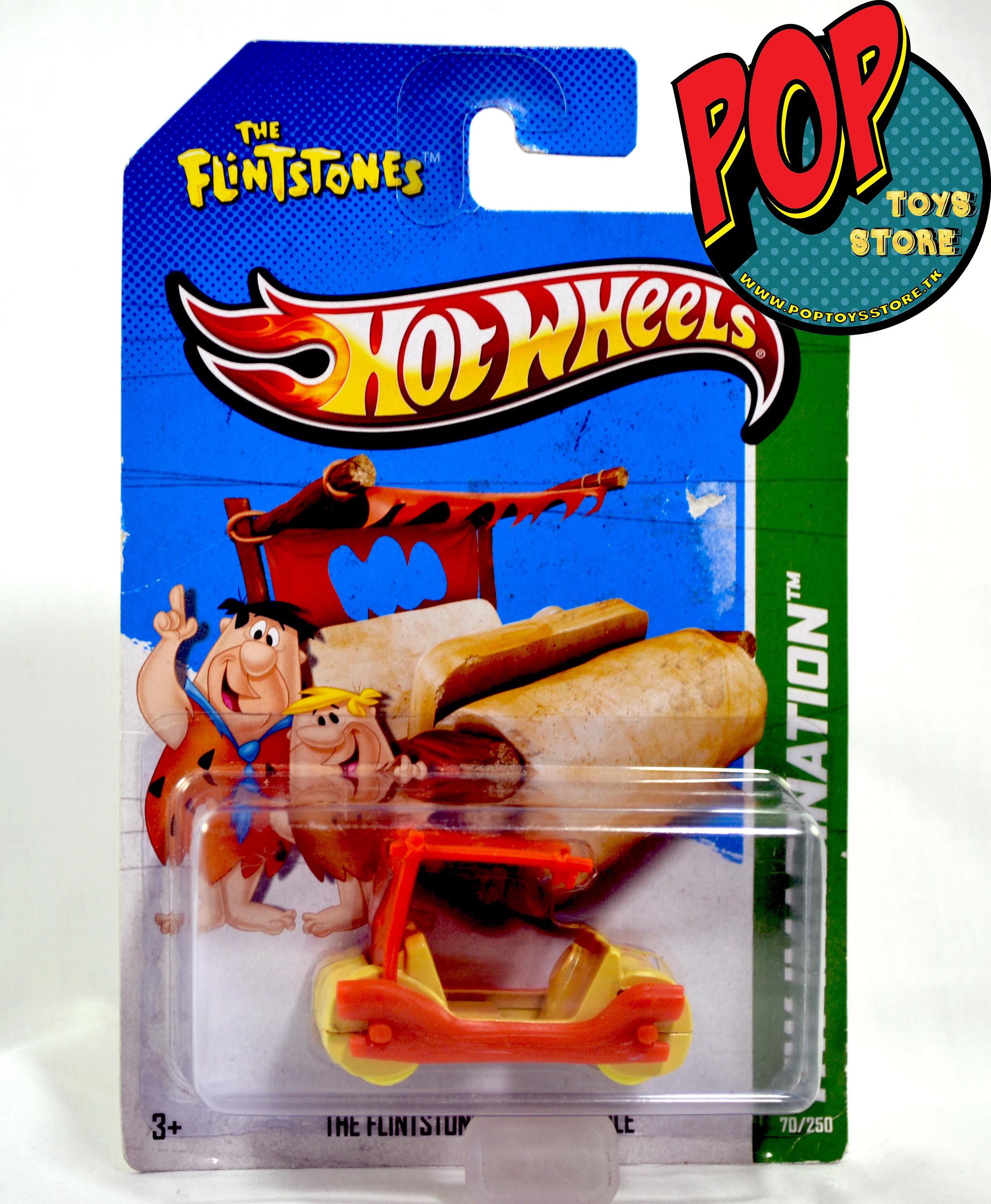hotwheels - picapiedras