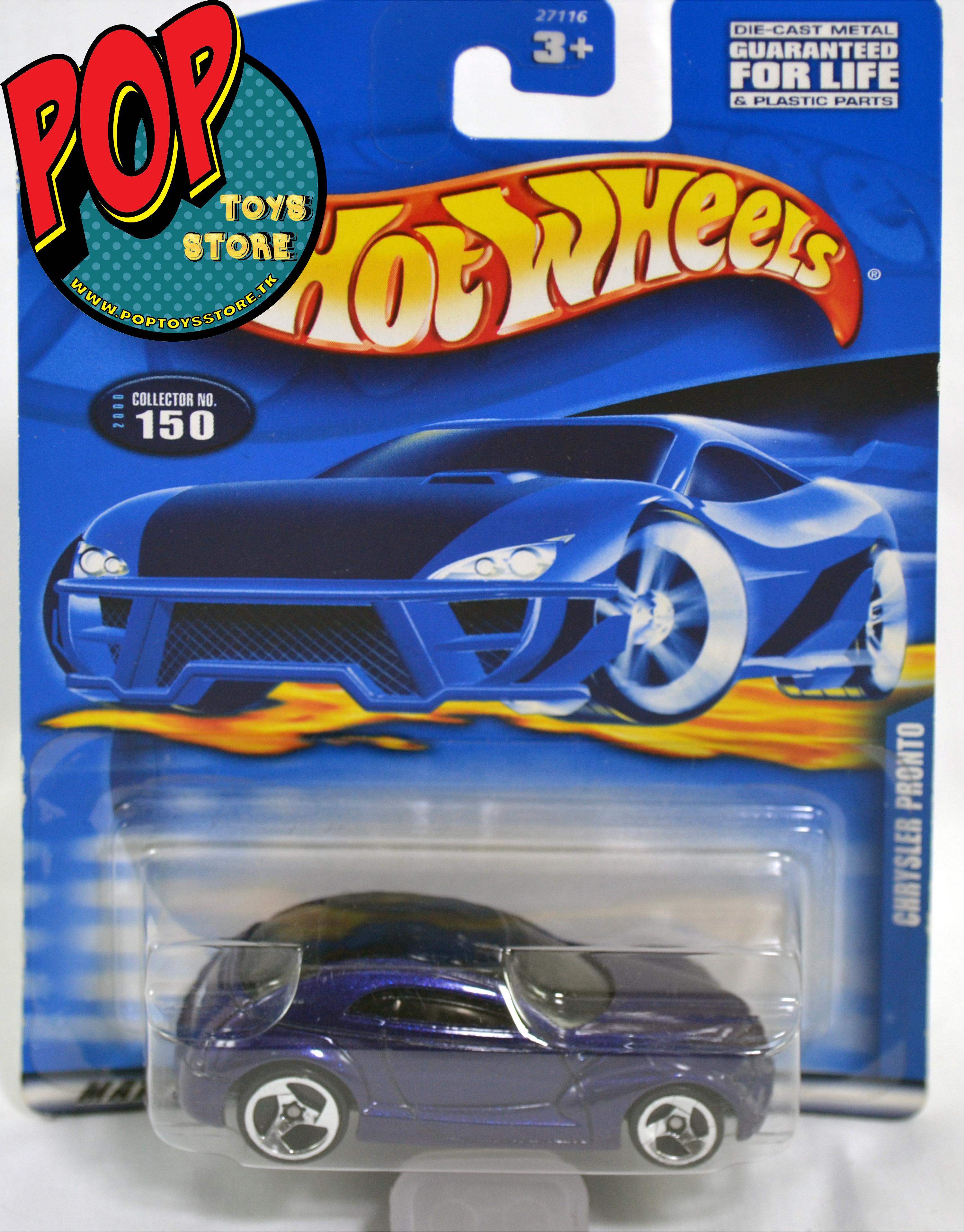 hotwheels - chrysler pronto 2000 -