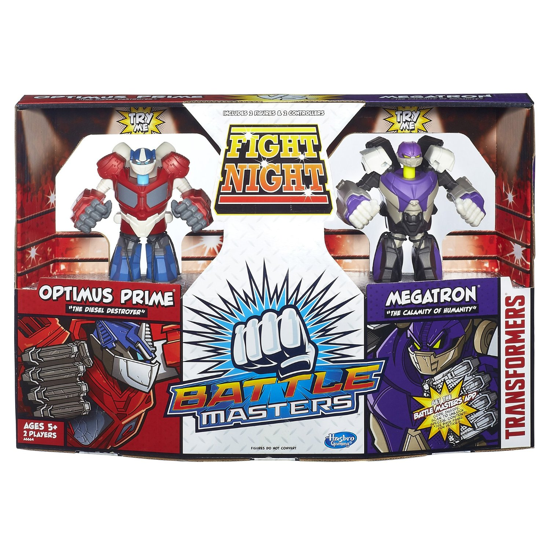 transformers - battle master - optimus - megatron