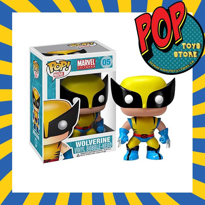 marvel - wolverine  funko pop