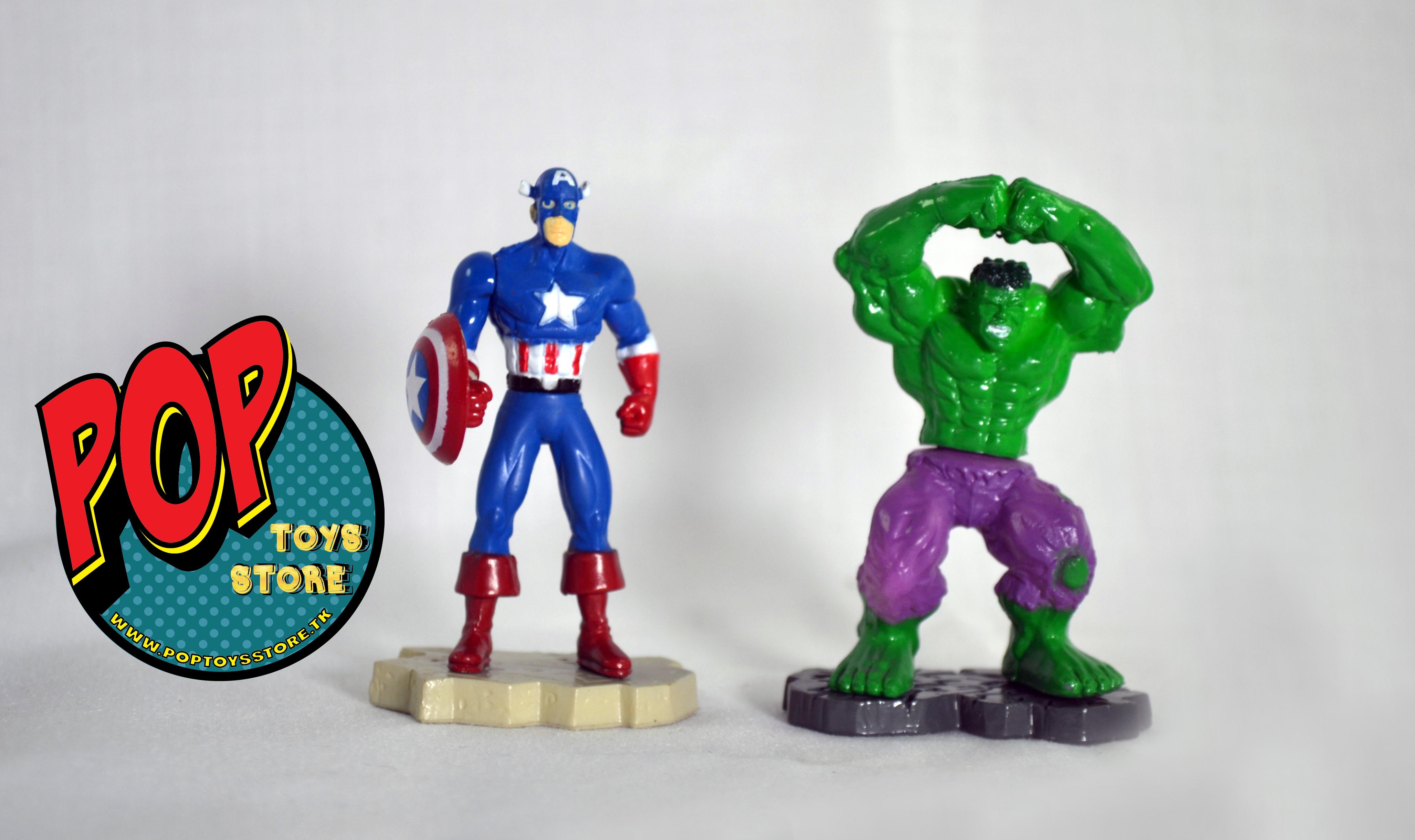 cap america y hulk